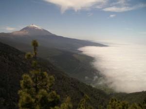 Der Aussichtspunkt auf den Teide