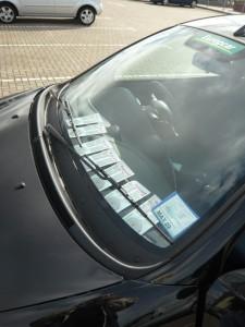 Kein Fake - So sieht's aus wenn man einen Tag parken will...