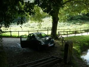 Eine ungew�hnlich gute Parkm�glichkeit.